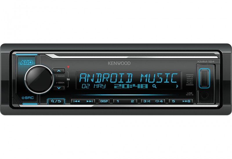 Kenwood KMM-124 USB